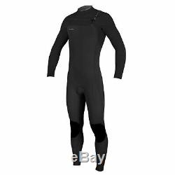 2018/19 O'Neill Hyperfreak 4/3MM Mens Chest Zip Full Wetsuit