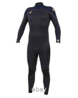 2019/20 O'Neill Psycho 1 Back Zip 5/4MM Wetsuit Black Abyss