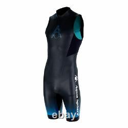 2021 Aqua Sphere Mens Aquaskin Shorty V3 Neoprene Wetsuit Sea Surfing Swimming
