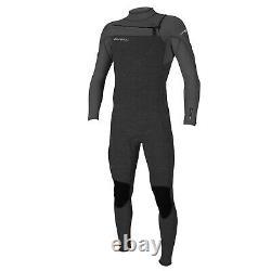 2021 Hammer 3/2mm chest zip Mens Summer wetsuit Acid wash Smoke