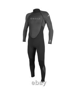 2021 O'Neill Reactor 3/2MM Mens Summer Wetsuit Black Graphite