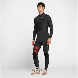 $250 Men's Hurley Advantage Plus Wetsuit 3/2 FullSuit Anthracite S MS M LS LT XL