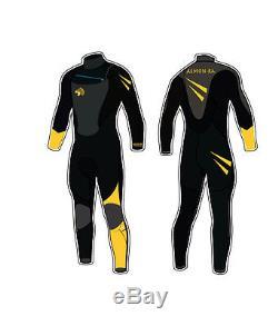4/3MM GBS Pro-Quality Wetsuit Unisex Men Women Surf Kayak Scuba Ultra-Flexible