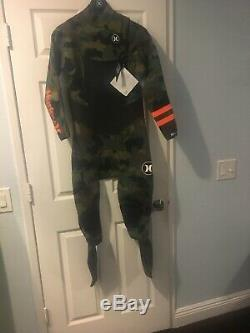 $430 HURLEY Men's 202 PHANTOM Camo Wetsuit Large NWT