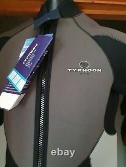 5mm Mens Wetsuit front zip large Shorty Wetsuit Swim Wetsuit 42/44 chest