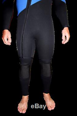 7mm Farmer John 2 Piece Wetsuit Gold Mining Cold Water Suit Large 4100