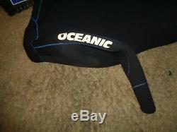 7mm Mens Wetsuit Med/Large Oceanic 2 Piece Farmer John