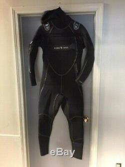 AQUA LUNG SolAFX Full Wetsuit Mens Large 8/7mm