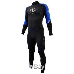 Aqua Lung Mens AquaFlex 5mm Back-Zip Jumpsuits