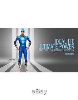 Aqua Sphere Triathlon Phantom Mens Adjustable Pro Triathlete Neoprene Wetsuit