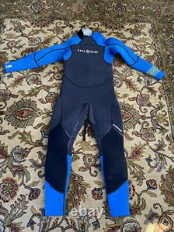 Aqua lung Aquaflex 7mm Wetsuit WORN ONLY ONCE. Large Tall