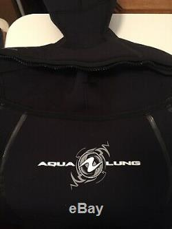 Aqualung Solafx semi dry wetsuit mens large