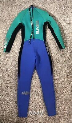 BARE Sports Wetsuit Full Long Sleeve Diving Surfing Multicolor Adult Size Large