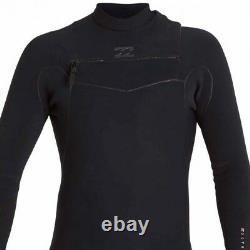 BILLABONG Men's 202 FURNACE CARBON ULTRA CZ Wetsuit BLK Size Large LAST ONE