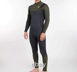 BILLABONG Men's 3/2 FURNACE ABSOLUTE CZ Wetsuit DKO Large Short NWT