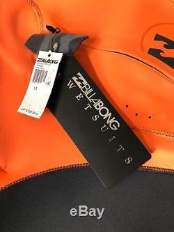 BILLABONG Men's 302 XERO PRO 3/2mm FURNACE Wetsuit Large Short