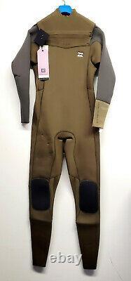 BILLABONG Men's 4/3 REVOLUTION TI-BONG CZ Wetsuit CMO Large NWT