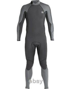 BILLABONG Men's 403 FURNACE ABSOLUTE COMP BZ Wetsuit ASH Large NWT