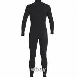 BILLABONG Men's 403 FURNACE CARBON COMP CZ Wetsuit BLK Large Short NWT