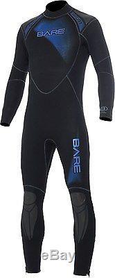 Bare 5mm Sport Snorkeling Scuba Diving Wetsuit Men's Large Dive Suit Cool Water