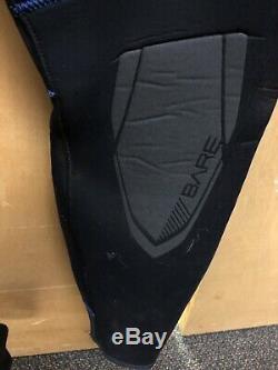 Bare 7mm Sport S-Flex Full Scuba Diving Wetsuit Men's Size Med/Large