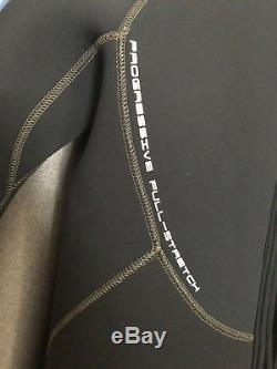Bare 7mm Velocity Full Suit Mens Wetsuit Blue, Large-Short