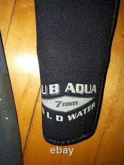 Bare Sub-aqua Mens Wetsuit Size Large