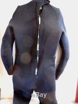 Bare Supra Arctic Full 7mm Men's Wetsuit Cold Water Scuba Dive Fullsuit Sz Lrg