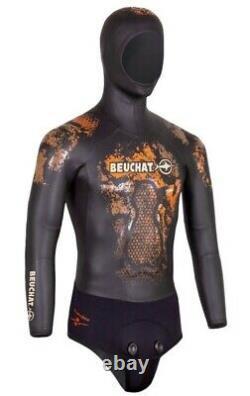 Beuchat Espandon Elite Mens Wetsuit, Size XL, 7mm