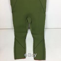 Billabong Andy Daris Wet Suit Green- Size Large- EUC Sleeveless Full Length