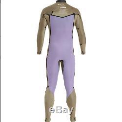 Billabong Furnace Revolution Chest Front Zip 5/4 Mens Winter Wetsuit New LARGE