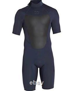 Billabong Men's 2Mm Absolute Comp Short Sleeve Springsuit Slate X-Large