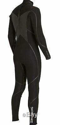 Billabong Men's 4/3mm Absolute X Chest Zip Fullsuit Wetsuit Size L Large