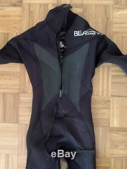 Billabong Men's 4/3mm Absolute X Chest Zip Fullsuit Wetsuit Size M (58 Height)