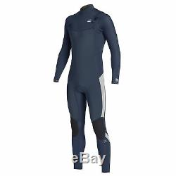 Billabong Mens Furnace Absolute 4/3mm Chest Zip GBS Full Wetsuit Blue