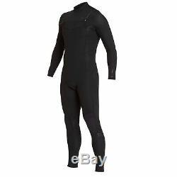 Billabong Mens Furnace Absolute Comp 3/2mm Chest Zip Wetsuit Black