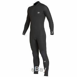 Billabong Mens Furnace Absolute Comp 5/4mm Back Zip Wetsuit Black