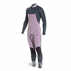 Billabong Mens Furnace Carbon Comp 5/4mm Chest Zip Wetsuit Slate