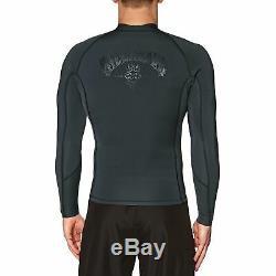 Billabong Revolution 2mm 2019 Front Zip Jacket Mens Surf Gear Wetsuit Black