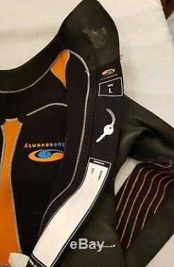 Blue Seventy BlueSeventy Mens Reaction Triathlon Wetsuit Race Gear, Large
