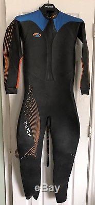 Blueseventy Helix Mens Size Large Full Sleeve Triathlon Swimming Wetsuit L