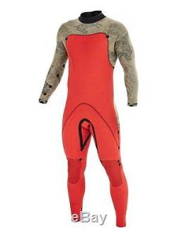 Brand New Quiksilver Wetsuit AG47 MO 3/2mm Back Zip Fullsuit Modern Originals