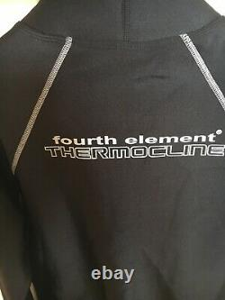 Brand-new Fourth Element Thermocline Long sleeve top. Size Men's Large. Black
