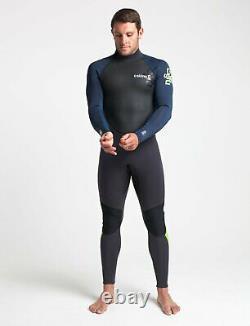 C-Skins Element 32mm Mens Steamer Wetsuit Back Zip Suit Surf Surfing
