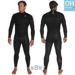C-Skins Legend 5/4mm Mens Chest Zip Wetsuit Full Length Steamer Surf Winter