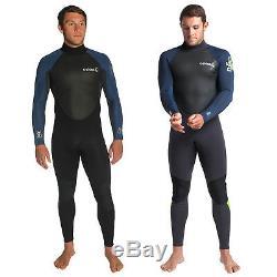 C-Skins Mens Element 3/2mm Full Length Neoprene Surf Wetsuit 3mm Summer Steamer