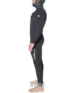 C-Skins Wired 6/5mm Mens Wetsuit in Black & White (2017)