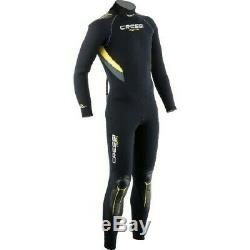 Cressi Castoro Man Monopiece Wetsuit 5 mm Modular One-piece Wetsuit, Largel/4