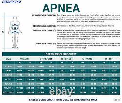 Cressi Men's Apnea Ultra Stretch 5mm Neoprene Top
