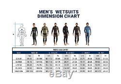 Cressi Men's Neptune Triathlon Swimming Neoprene Wetsuit Black